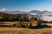 Oravské přírody overlook z Šumařův Dubova