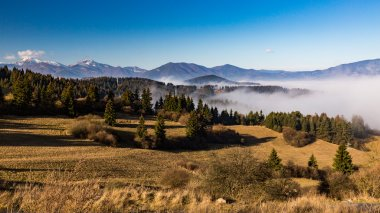 Orava nature overlook from Valaska Dubova