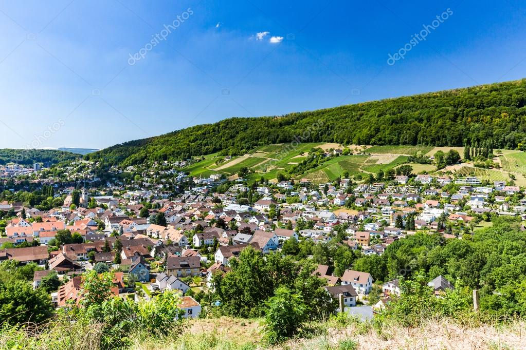 View from Mountain Lagern to Wettingen