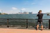 A fotós fotózni a Manhattan