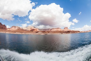 Glen Canyon at the Lake Powell