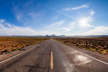 Road near Monument Valley