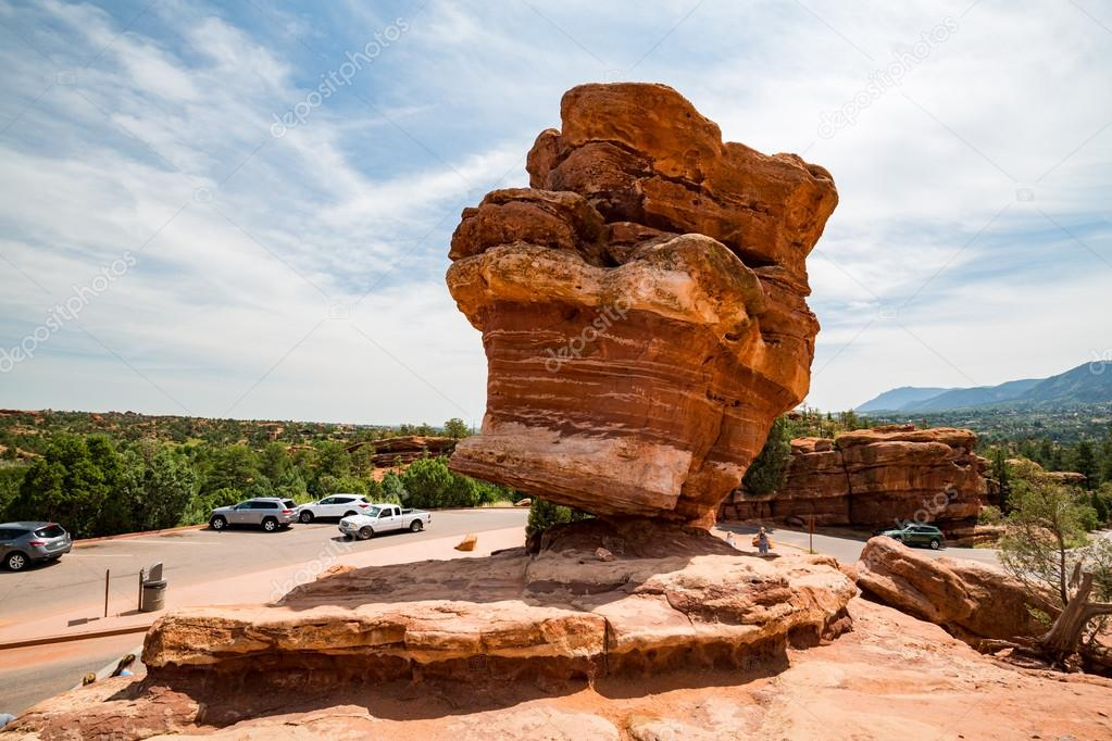 GARDEN OF THE GODS, COLORADO - AUGUST 26: Outdoor views of th