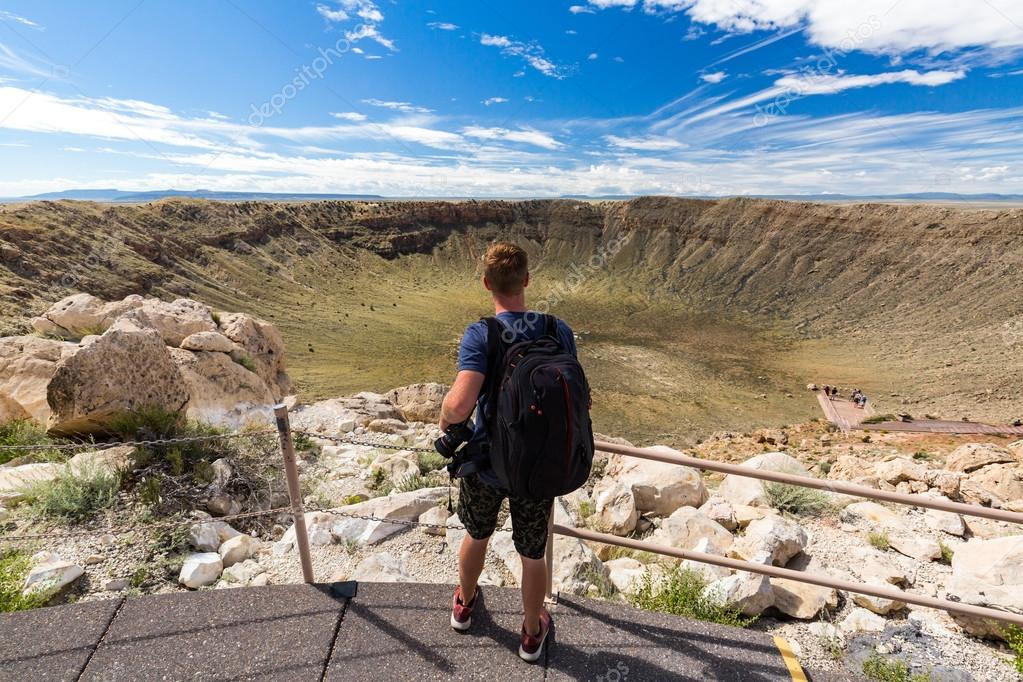 View of the Meteor Crater