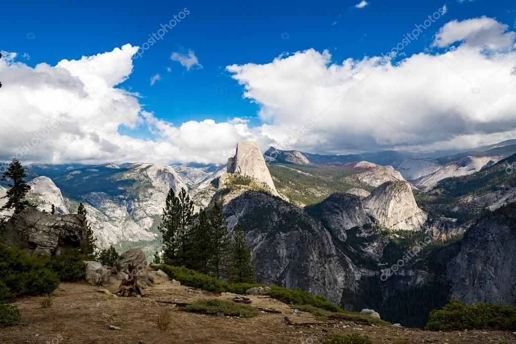 Half Dome in Yosemite National Park, California