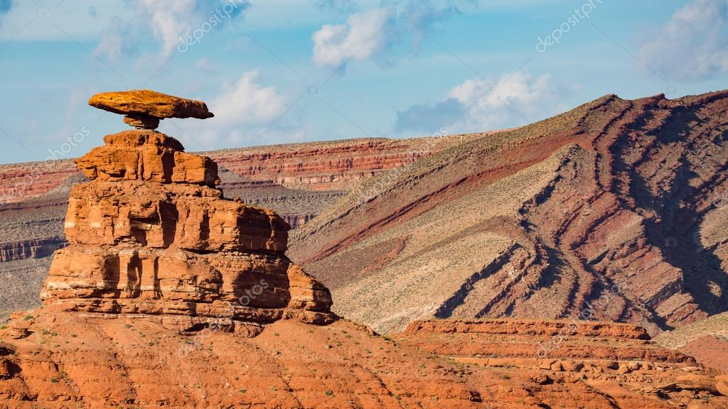 Mexican Hat during the day