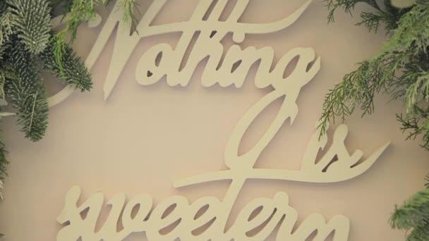 Svatební dekorace přání