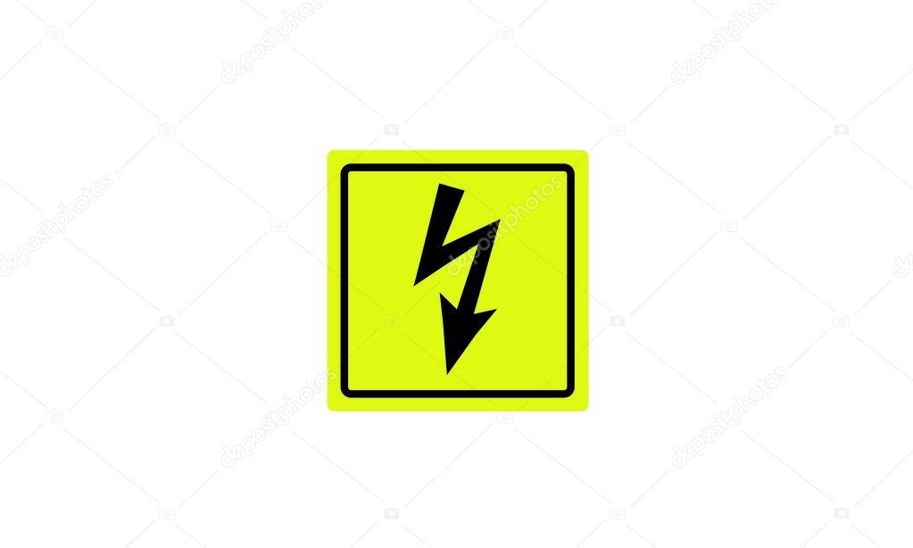 Warnung vor gefährlicher elektrischer Spannung Rundschreiben ...