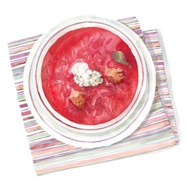 tomato soup borcsh