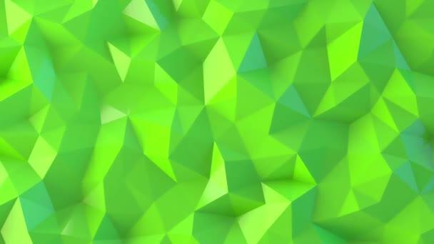 Zelené nízké poly abstraktní pozadí.