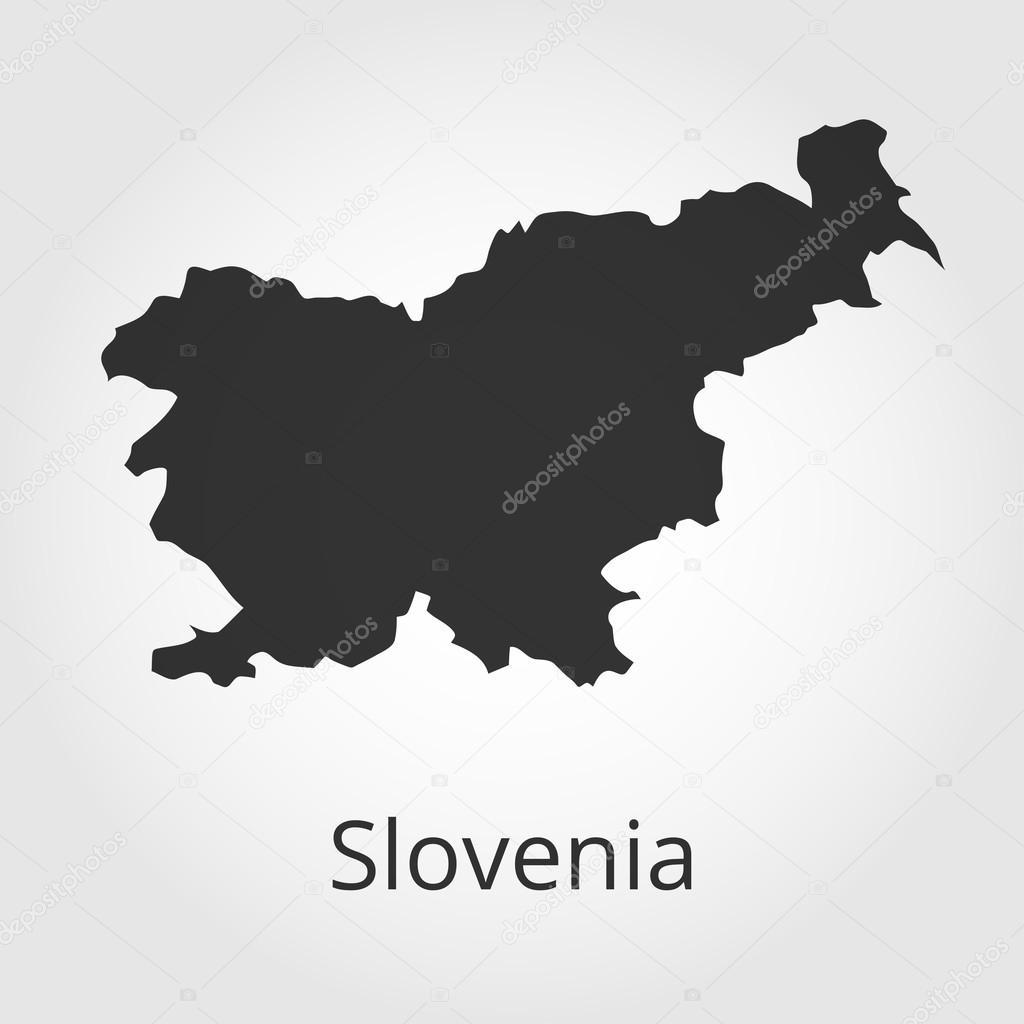 Slovenia Map Icon Vector Illustration Stock Vector Rb - Slovenia map download