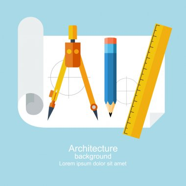 Drawing tools. Architecture