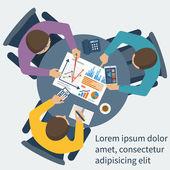 Fotografia concetto di gestione di progetto