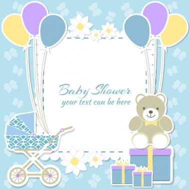 Baby shower boy,
