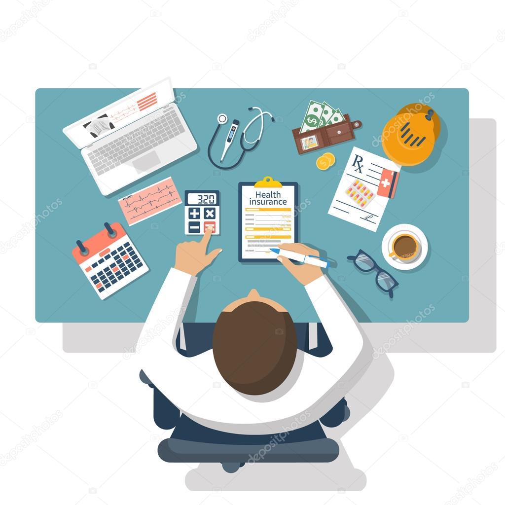 health insurance vector stock vector threecvet gmail com 117473088
