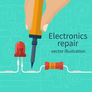 Electronics repair concept