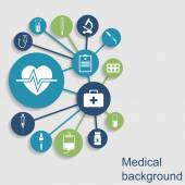 Medical concept background