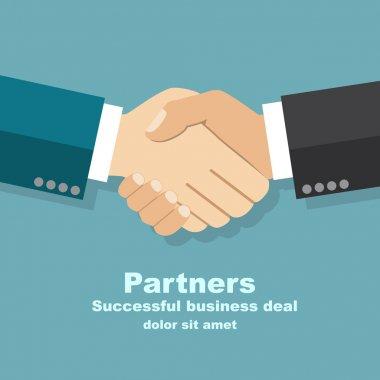 handshake businessman agreement