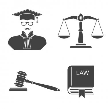 Set icons law and justice