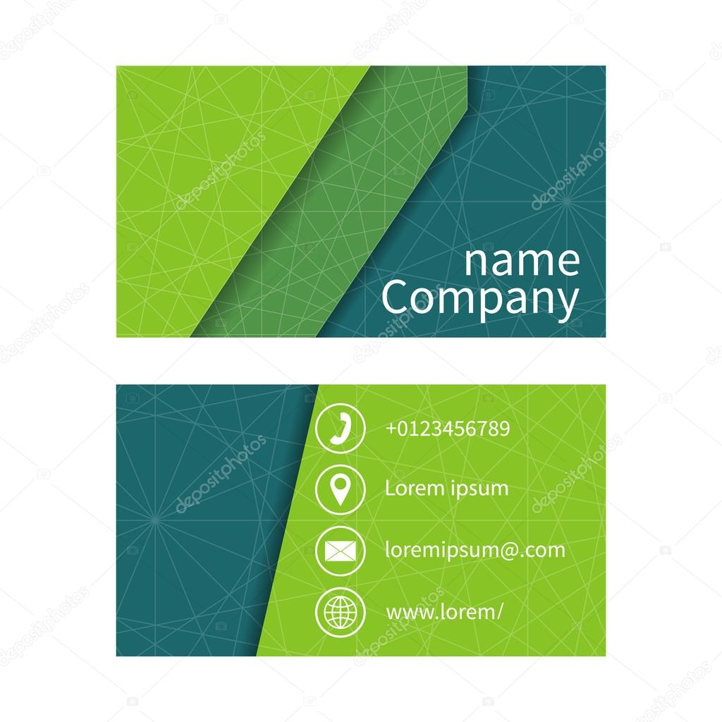 Business card with abstract background of lines business cards business card with abstract background of lines business cards set space for company name address phone email visit card blank template reheart Image collections