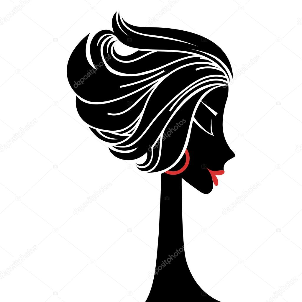 Sagoma profilo donna vettoriali stock konekotanya for Scarica clipart