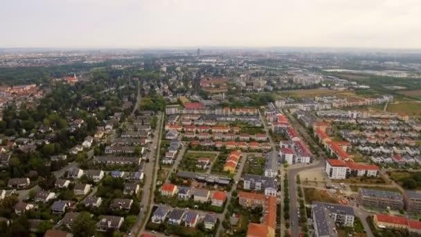 Luftaufnahme der Stadt Augsburg, Deutschland, Bayern, Landkreis Ggingen, Univirtel.Luftaufnahme der Stadt Augsburg