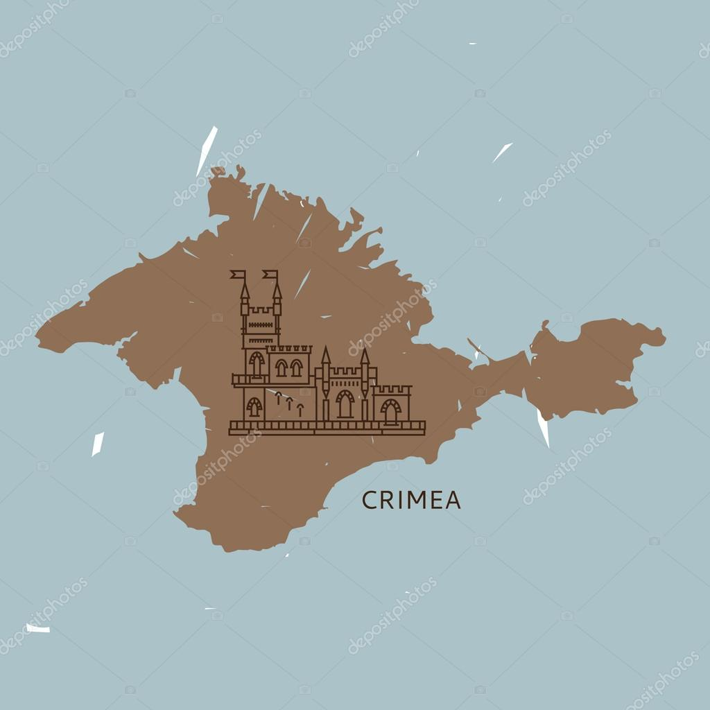 Map Of The Crimea