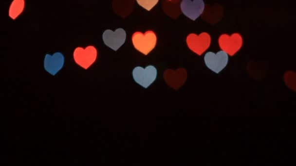 Heart Bokeh Valentines Day Background