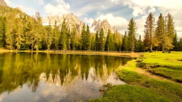 timelapse Dolomity Itálie