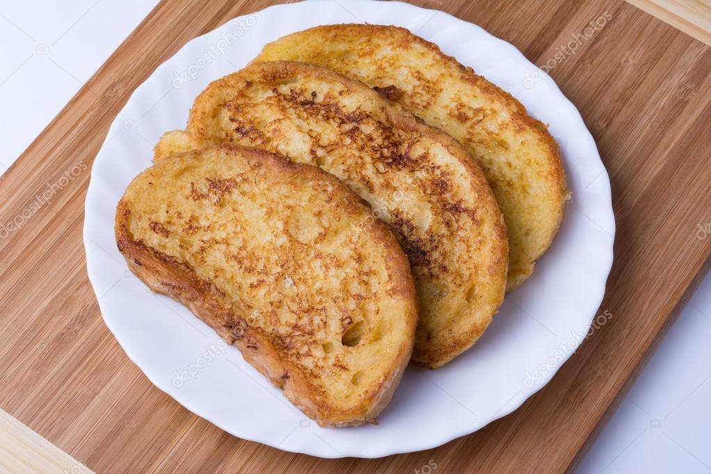 сладкий жареный хлеб