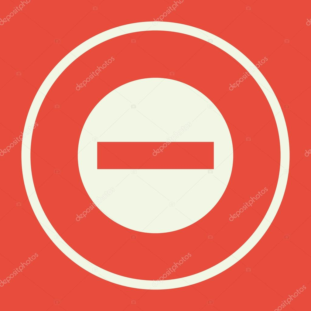 No entry icon on red background white circle border white out no entry icon on red background white circle border white out stock buycottarizona