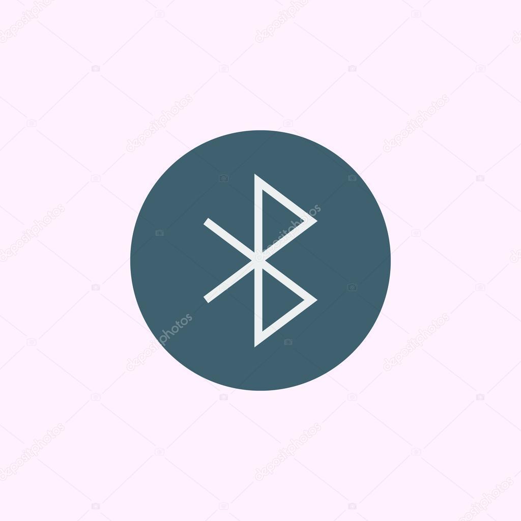 Bluetooth Icon Bluetooth Symbol Bluetooth Vector Bluetooth Eps