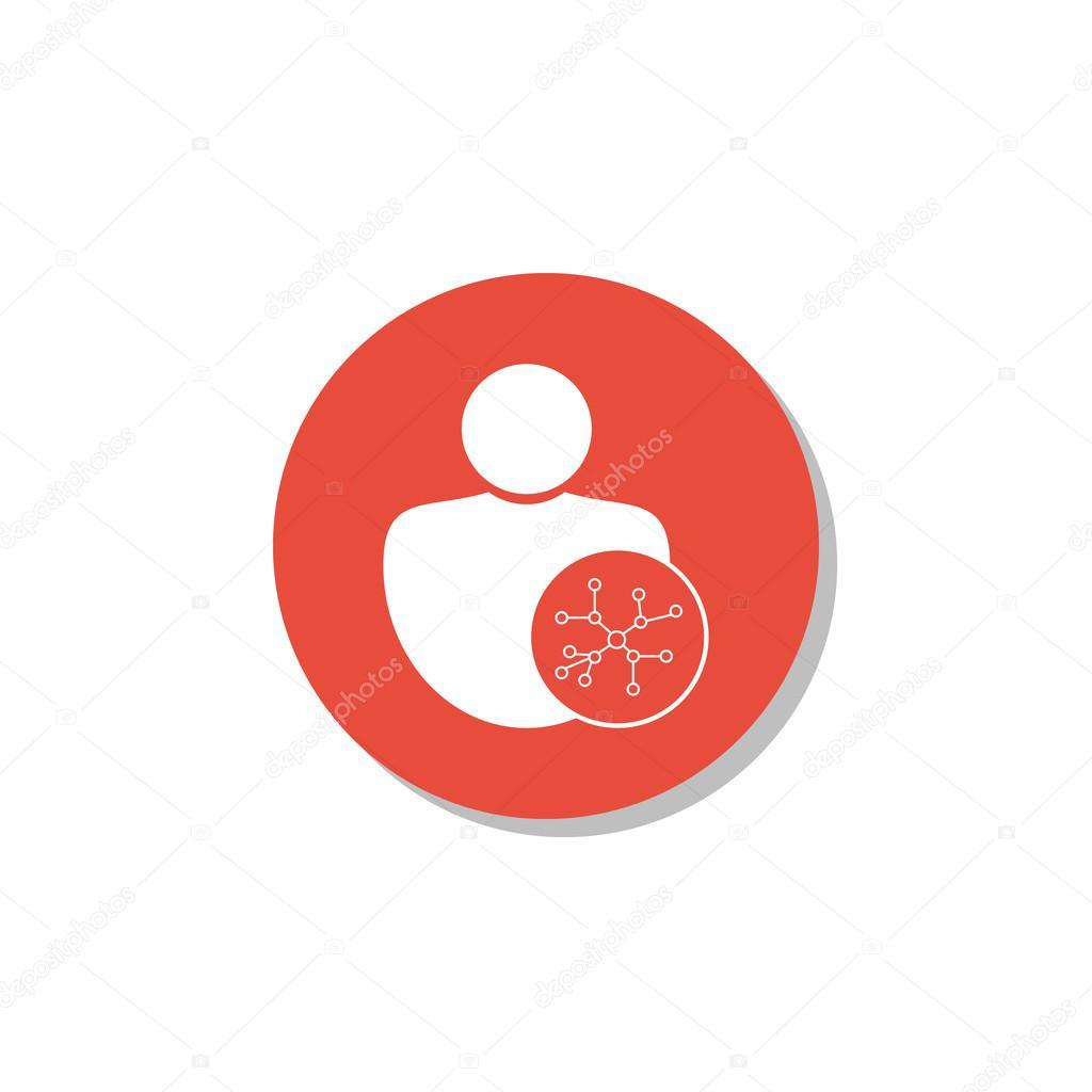 Benutzer-Verbindungssymbol, Benutzer Verbindungssymbol, Benutzer ...