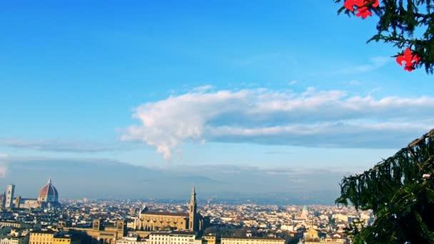 Firenze Olaszország gyönyörű városkép balra