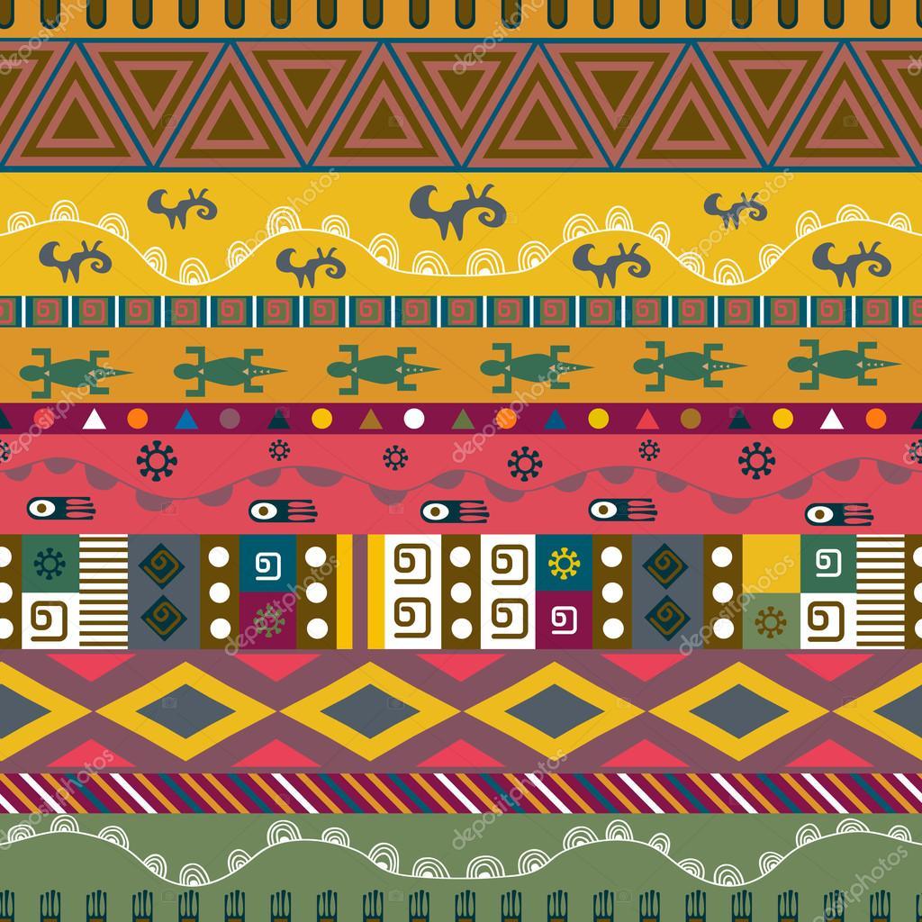 Resumen patrón étnico. Fondo tribal vector. Textura ideal para ...