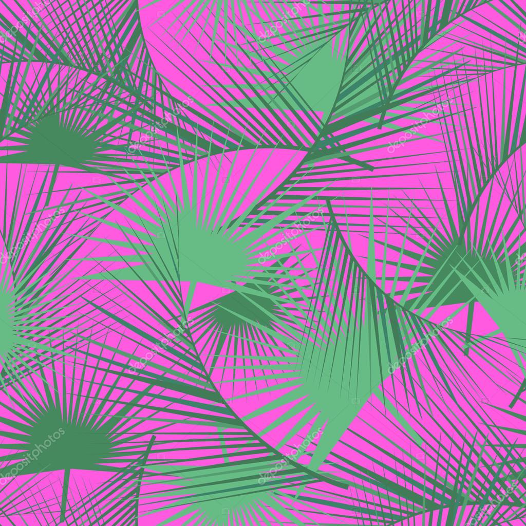 Wallpapers pattern fills web page backgrounds surface textures - Seamless Tropical Pattern With Green Palm Leaves Jungle Texture Perfect For Wallpapers Pattern Fills Web Page Backgrounds Surface Textures Textile