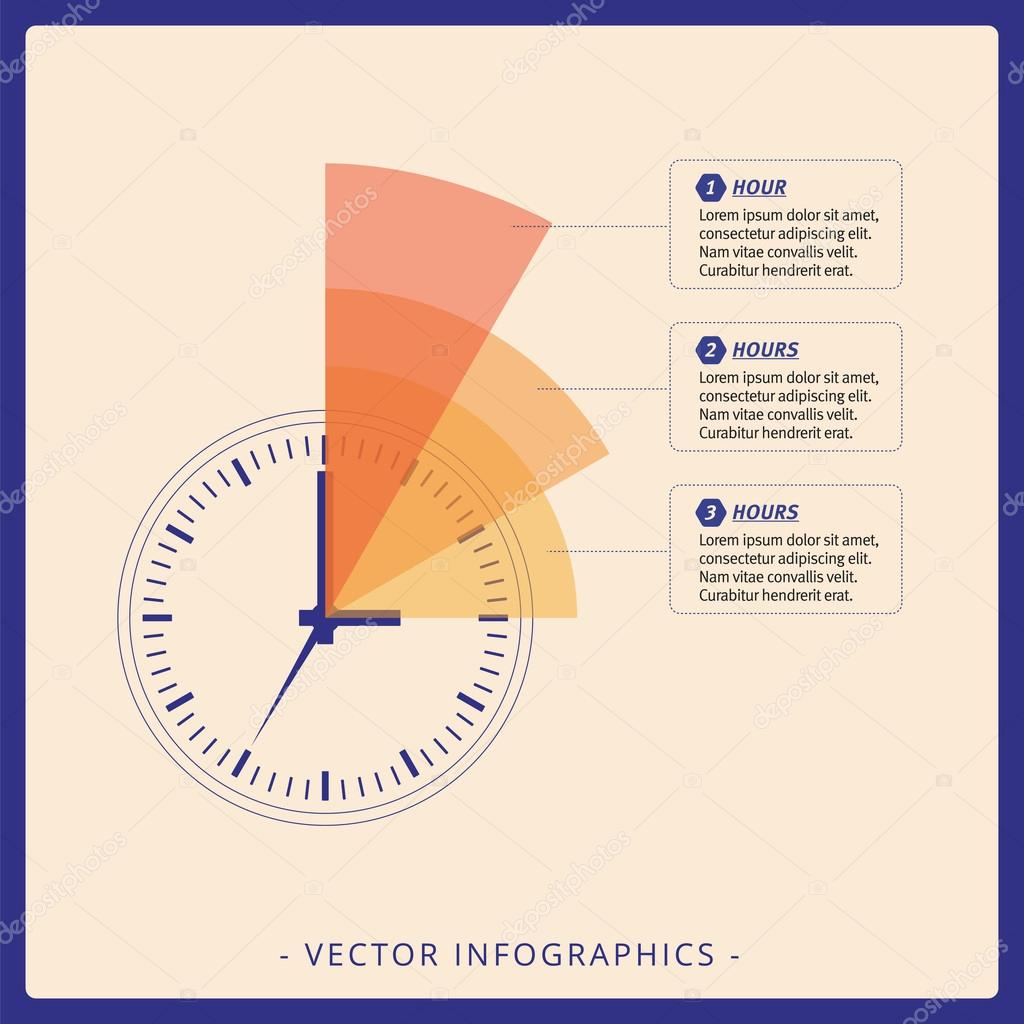 Zifferblatt-Diagrammvorlage — Stockvektor © surfsup.vector.gmail.com ...