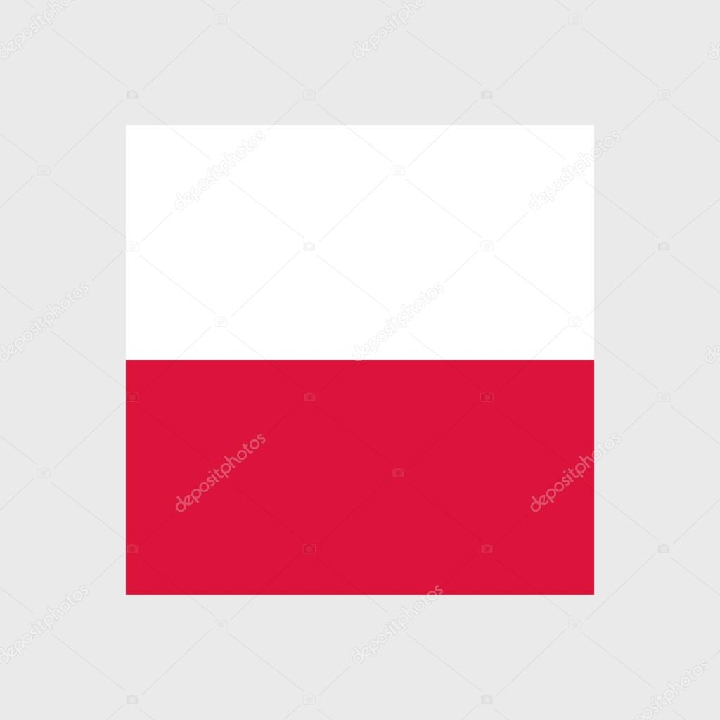 poland national flag stock vector surfsup vector gmail com