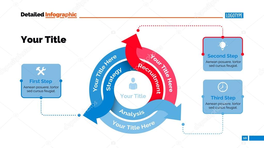Three arrows diagram slide template vetores de stock surfsup three arrows diagram slide template vetores de stock ccuart