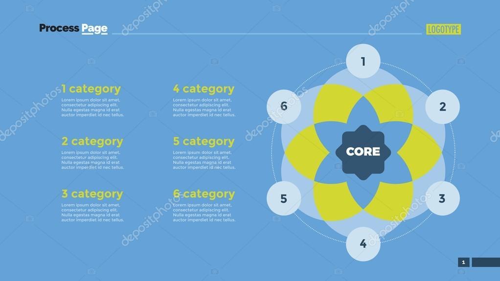 6 crculo modelo de slide do diagrama de venn vetores de stock 6 crculo modelo de slide do diagrama de venn vetores ccuart Choice Image