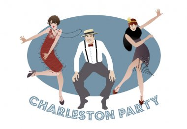 Charleston Party. 1920s style