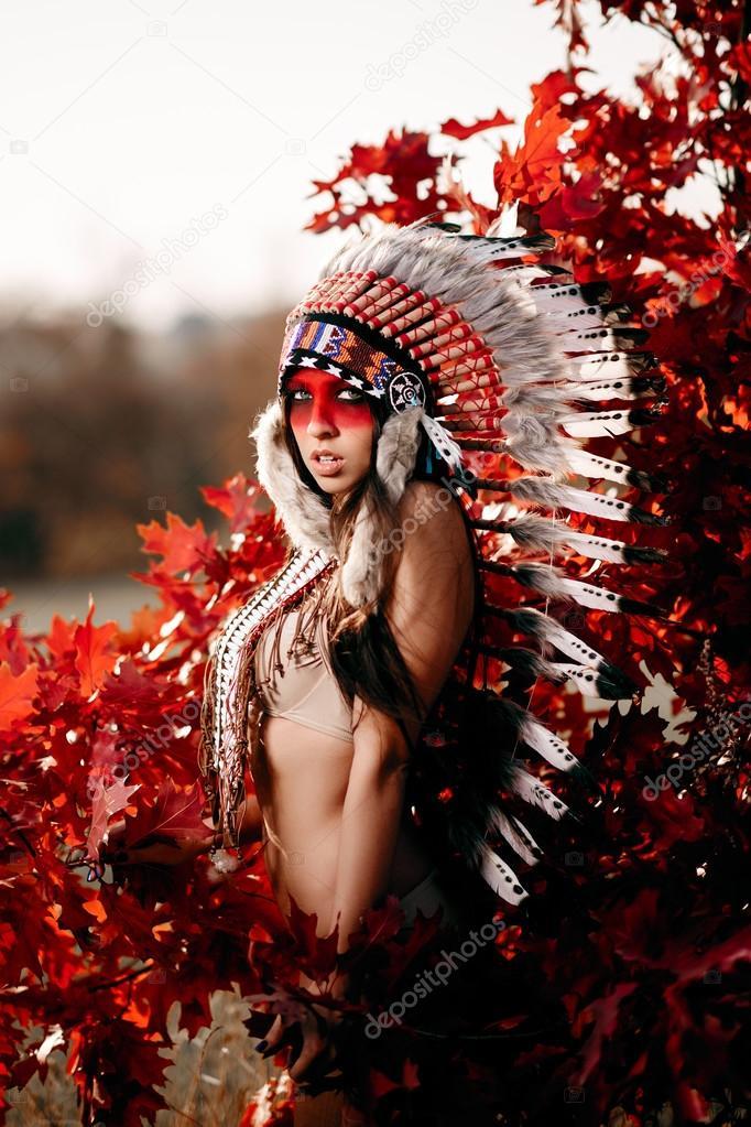 Сексуальные индейские девушки