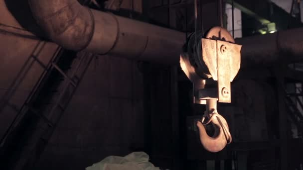 Industrial Swinging Crane Hook.