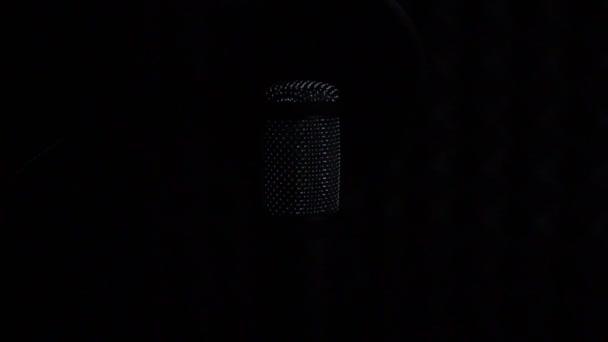 Hang stúdió mikrofon.