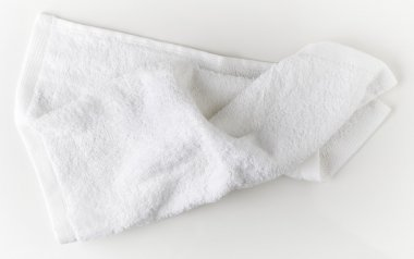 White spa towel