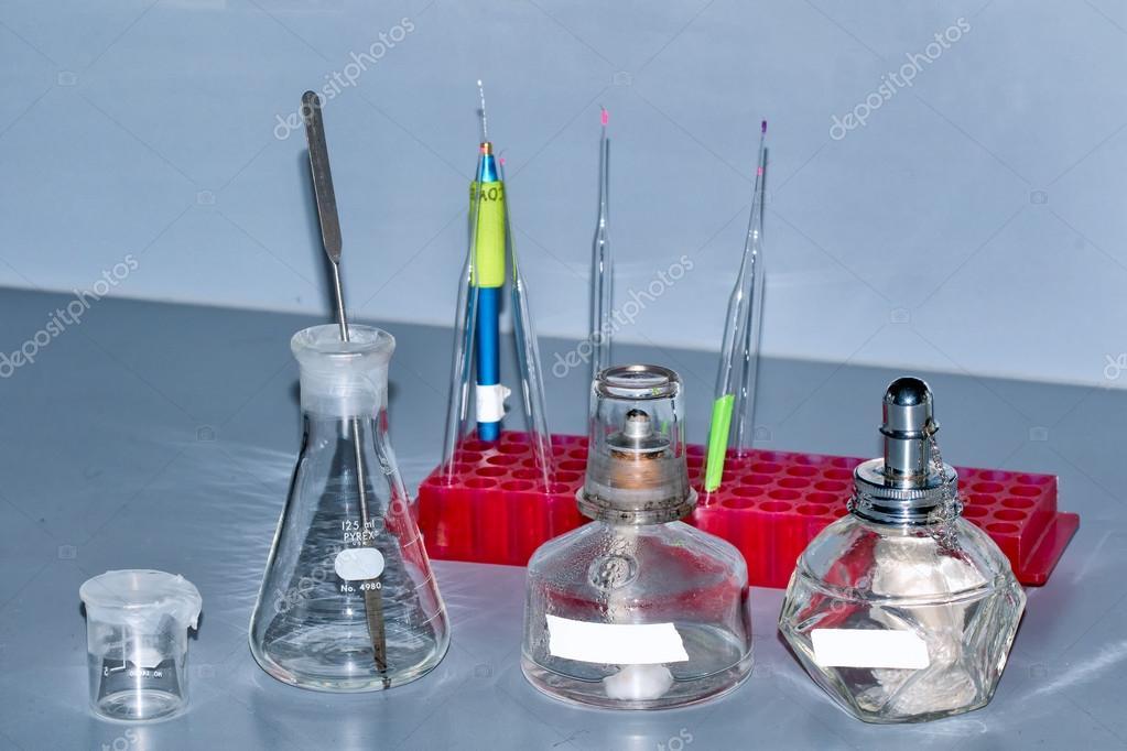 Science lab supplies — Stock Photo © jason troutnut com