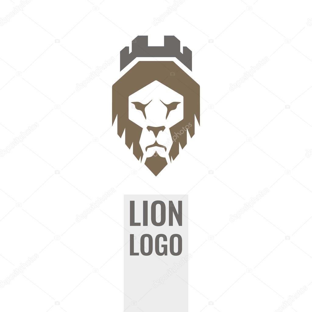 lion shield vector logo design template universal premium