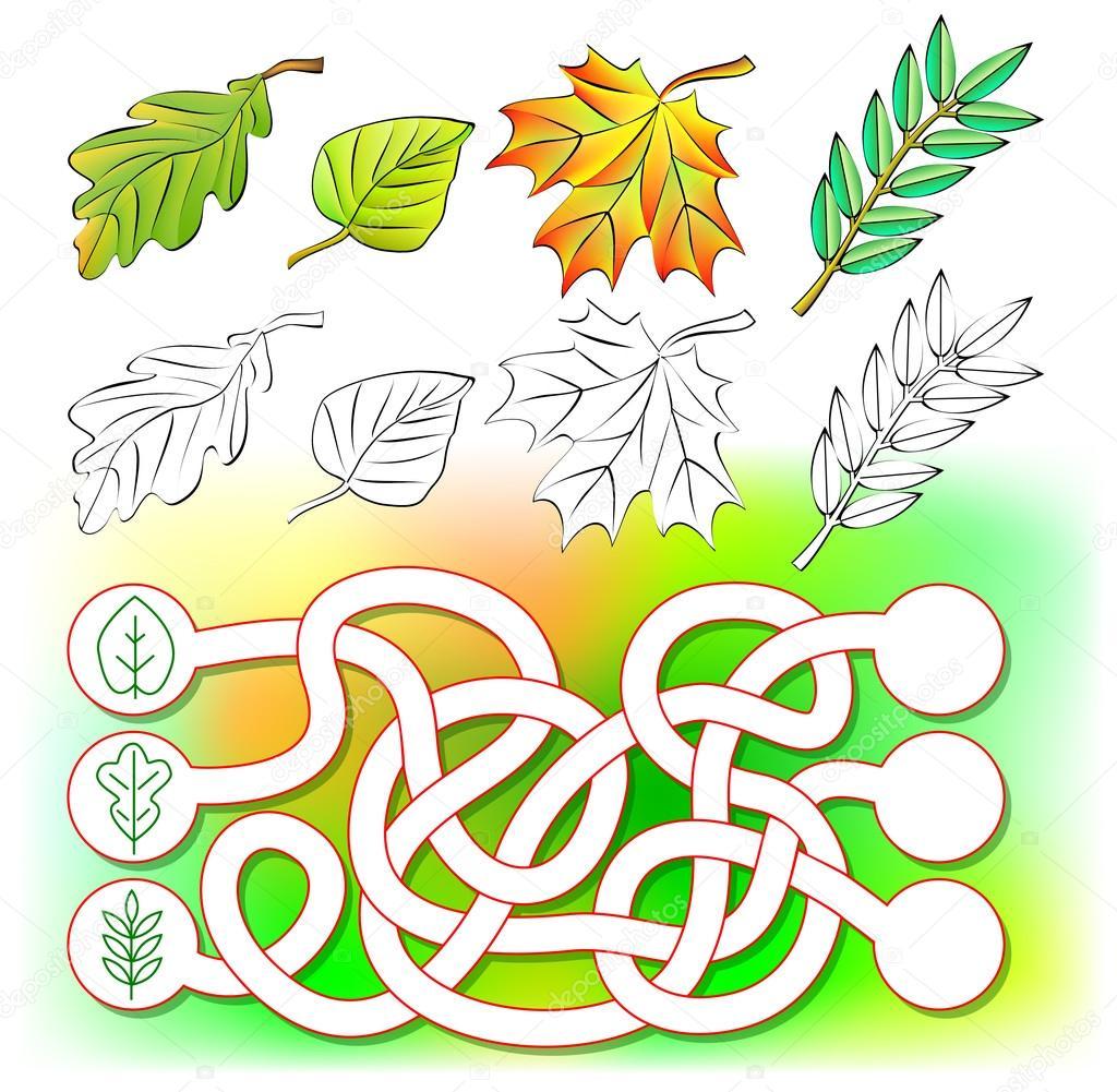 Ejercicios para los niños - necesitan colorear hojas y dibujar ...