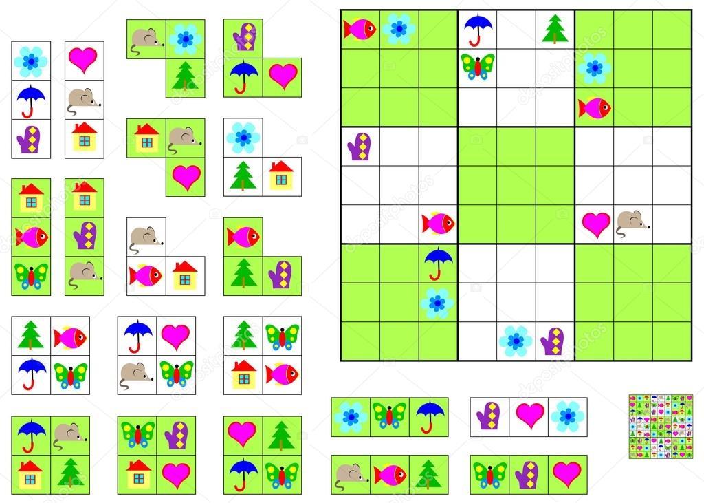 Lógica Sudoku juego - necesita para completar el rompecabezas ...