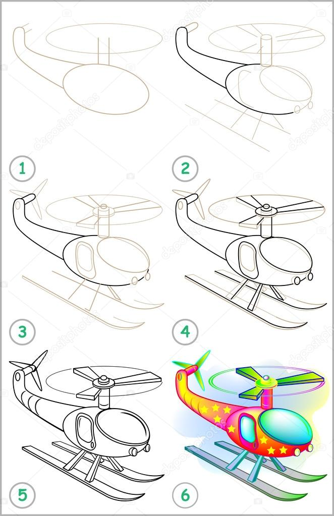 Como dibujar un avion para niños paso a paso | Página muestra cómo ...